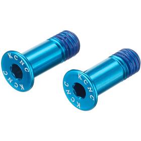 KCNC Jockey Wheel Bolts L14mm blue